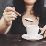 加糖瘾,不健康的生活方式,重量增加,饮食,愈合 库存照片