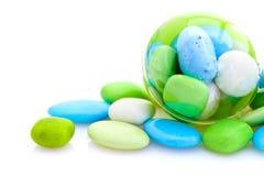 加糖的杏仁法语 免版税库存图片