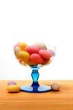 加糖的杏仁 库存图片