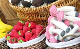 加糖的甜点 免版税库存照片