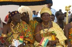 加纳皇族 库存图片