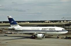 加纳航空准备好的道格拉斯DC-10-30飞回家 免版税图库摄影