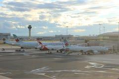 加航在多伦多机场 免版税库存照片