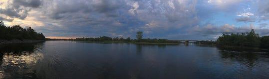 加蒂诺河 库存图片