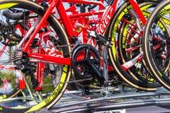 更加诡计多端的Triestina队自行车 免版税库存图片