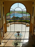洪加达,埃及- 2008年11月14日:从旅馆胜利的看法 库存图片