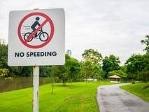 加速不签到公园 免版税库存图片