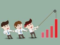 加速企业成长 库存图片