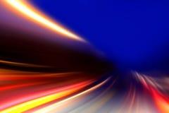 加速度速度行动 免版税库存照片