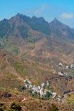 加那利群岛村庄 库存照片