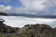 加那利群岛海洋海浪tenerife 免版税库存照片