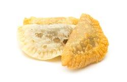 加那利群岛甜点-特鲁查斯de fruta 库存图片