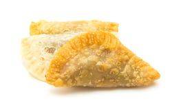 加那利群岛甜点-特鲁查斯de fruta 免版税图库摄影