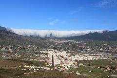 加那利群岛la palma 免版税库存照片