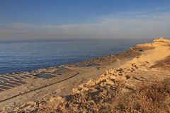 加那利群岛lanzarote批评盐西班牙 图库摄影