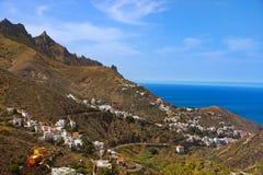 加那利群岛taganana tenerife村庄 库存照片