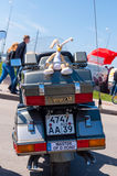 加里宁格勒汽车展示 免版税图库摄影