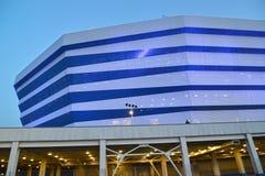 加里宁格勒,俄国 波儿地克的竞技场体育场的片段 图库摄影