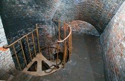 加里宁格勒,金属楼梯堡垒11 图库摄影