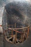 加里宁格勒,金属楼梯堡垒11 库存照片
