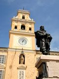 加里波第在帕尔马 免版税库存照片