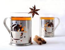 加香料的茶 免版税图库摄影
