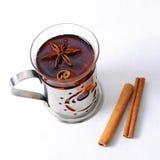加香料的茶 免版税库存照片