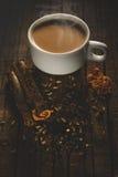 加香料的茶 库存照片