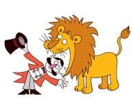 更加驯狮者 库存照片