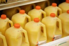 加仑橙汁 免版税库存图片