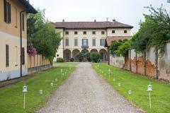 加贾诺(米兰,意大利) 免版税库存照片
