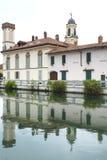 加贾诺(米兰,意大利) 免版税库存图片