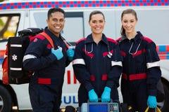 医务人员便携式设备 免版税图库摄影