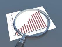 财务分析,图表 库存图片