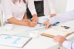 财务分析 免版税库存图片