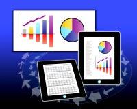 财务分析介绍 库存图片