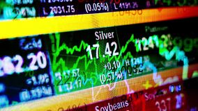 财务抽象的背景 股票录像