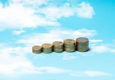财务收益 库存图片