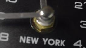 财务时间在纽约 股票录像