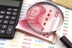 财务的概念 免版税库存照片