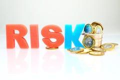 财务风险 免版税库存照片