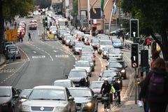 动作缓慢交通 免版税库存图片