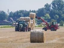 动力化的农夫 图库摄影