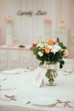 活动当事人接收集合表婚礼 免版税库存照片