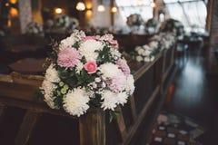 活动当事人接收集合表婚礼 库存照片