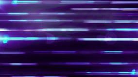 动态五颜六色的射线的抽象动画在紫色背景的 背景动画的行动 皇族释放例证