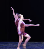 动态和清楚古典芭蕾` Austen汇集` 免版税库存照片