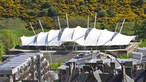 动态地球在爱丁堡苏格兰 库存图片