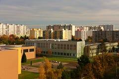 活动房屋在布拉格 库存照片