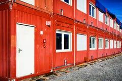 活动房屋容器 免版税库存照片